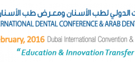 The 20th edition of the UAE International Dental Conference & Arab Dental Exhibition – AEEDC Dubai 2016